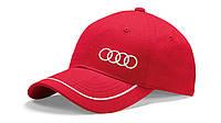 Бейсболка Audi Unisex Baseball Cap Red