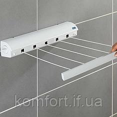 Автоматична витяжна настінна вішалка для сушки одягу, Автоматична білизняна мотузка