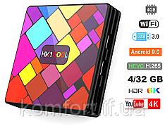 Смарт ТВ приставка HK1 Cool 4Gb/32GB Android 9.0 Smart TV Box, Медиаплеер 6К, WiFi, H.265