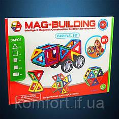 Магнитный конструктор Mag Building 36 pcs