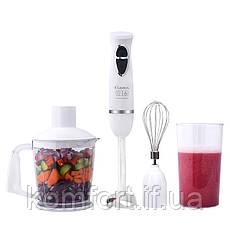 Многофункциональный ручной блендер 4в1 LEXICAL LHB-1604, 500Вт, 2скорости, Венчик, измельчитель, стакан, фото 2