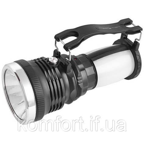 Акумуляторний ліхтарик Yajia 2891-1W+16SMD, фото 2