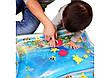 Детский развивающий водный коврик Qmol надувной с рыбками, фото 2