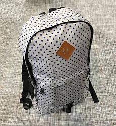 Городской рюкзак в горошек А002