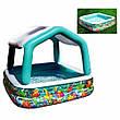 Дитячий надувний басейн Intex 57470 Акваріум, фото 2
