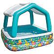 Дитячий надувний басейн Intex 57470 Акваріум, фото 3