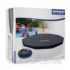 Чехол Intex 28030 (интес 58406) для каркасного круглого бассейна 305 см