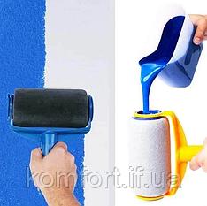 Валик для покраски Paint Roller с резервуаром для наполнения краски