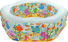 Дитячий надувний басейн Intex 56493 Океанський риф