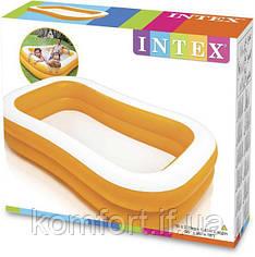 Дитячий надувний басейн Intex 57181 (229-147-46 см)