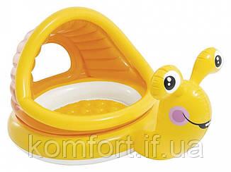 Басейн дитячий надувний Равлик Intex 57124, фото 2