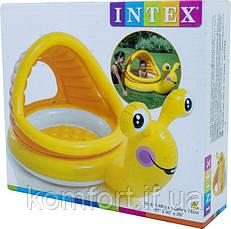 Басейн дитячий надувний Равлик Intex 57124, фото 3