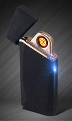 Електронна спіральна сенсорна запальничка LIGHTER USB 110