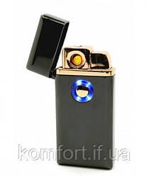 Зажигалка спиральная TH 705 2IN1 Газ + USB Charge