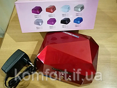 Сушарка для нігтів Beauty nail CCF + LED (00066) Лампа для манікюру 36 Вт