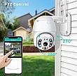 Камера відеоспостереження PTZ WiFi xm 2mp, фото 4