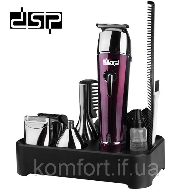 Триммер для волос 5в1 стрижка,бритва беспроводная DSP F-90030