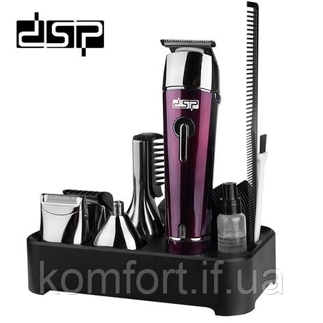 Триммер для волос 5в1 стрижка,бритва беспроводная DSP F-90030, фото 2