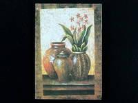 Цветы 1 / Картина 11x17x1 см
