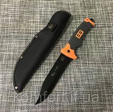 Нож с чехлом Gerber Н-100 для охоты и рыбалки, фото 3