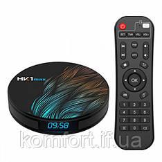 Цифровая TV приставка HK1 MAX 4GB/32GB ANDROID 9.0, Медиаплеер