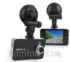 Автомобильный видеорегистратор DVR K6000 Full HD (без HDMI), Видеорегистратор, Авторегистратор
