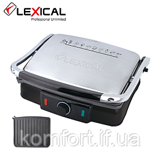 Електричний гриль LEXICAL LSM-2507 / 2200W / Контактний гриль