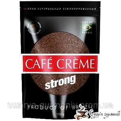 Растворимый кофе Cafe Creme Strong м/у 100г