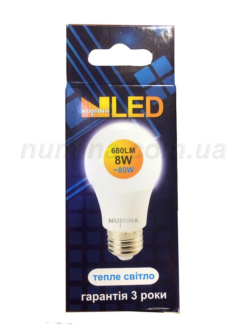 Светодиодная лампа груша PREMIUM B55AP 8W E27 3000K