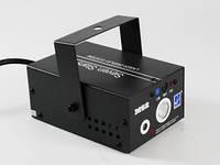 Диско / Лазерная приставка / Цветомузыка / Много режимов / 220 v 15x11x8 см
