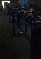 Цепной роликовый конвейер, транспортер, бревнотяг, фото 1