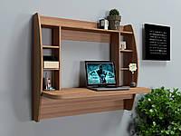 Навесной компьютерный стол ZEUS AirTable-I LB (орех), фото 1