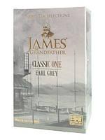 """Чай чёрный листовой James Grandfather """"Ерл Грей"""", 100 гр. карт."""