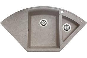 Кухонна мийка гранітна MIRAGGIO EUROPE sand