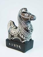 Гороскоп Лошадь маленькая / Фигурка Каменная 12x7x4 см