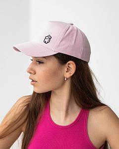 Літня кепка для дівчаток котон рожева оптом - Амонг Ас