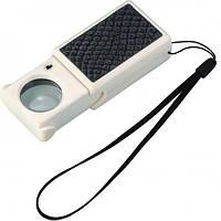 Лупа Magnifiers 9881A выдвижная с LED подсветкой