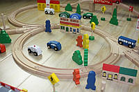 Железная дорога (большая) - город,Чехия пр-во, фото 1