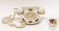 Винтажный телефон, Royal Albert, фарфор Англия, фото 1