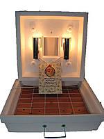 Инкубатор Рябушка-2 ИБМ-70 на 70 яиц с Механическим переворотом,терморег-р Аналоговый(Литой корпус пенопласта)