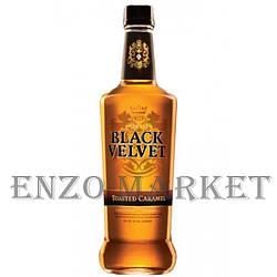 Віскі Black Velvet Toasted Caramel (Блек Вельвет Карамель) 35%, 1 літр