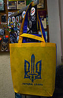 """Сумка сине-желтая """"Тризуб"""", фото 1"""