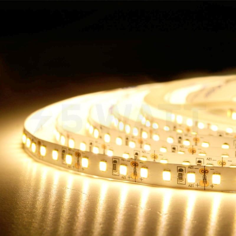 Світлодіодна стрічка CR SMD 5050-60 12v ip33 Warm White