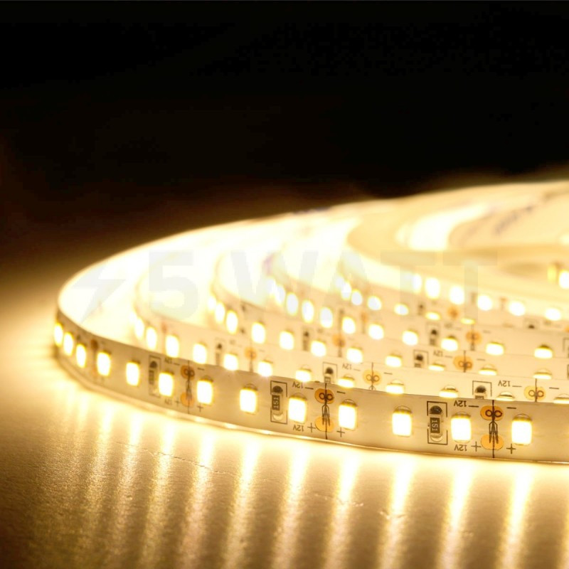 Светодиодная лента CR SMD 5730-60 12v ip33 Warm White