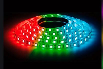 Светодиодная лента M-12V-5050-60 IP44 RGB 3 chip