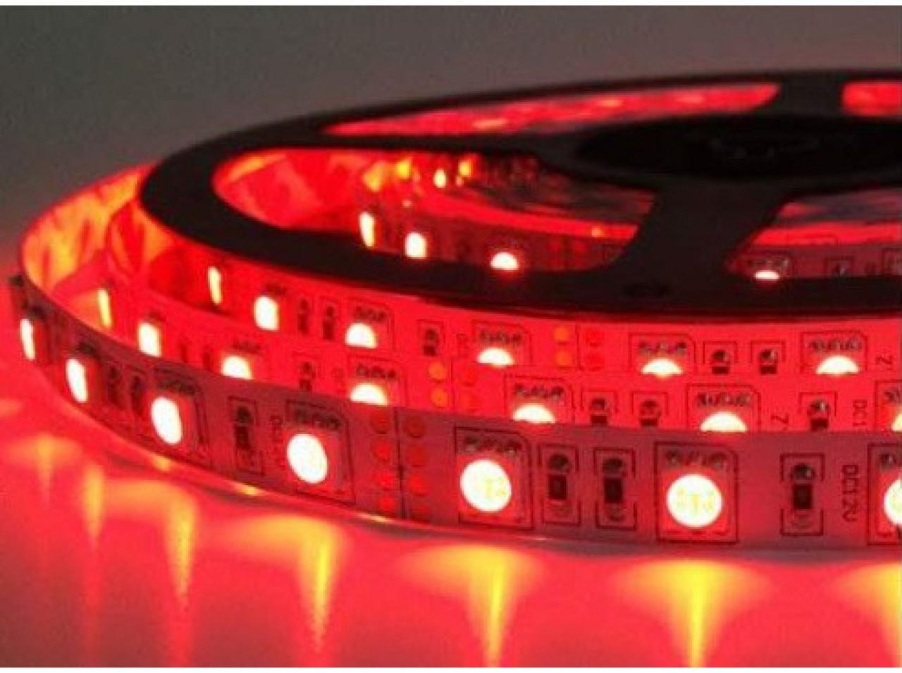 Светодиодная лента CR 12V 2835-60 IP33 RED 4Lm