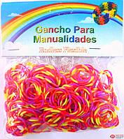 Резинки для плетения Rainbow loom Цвета в ассортименте арт. 34220