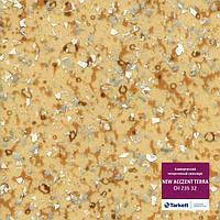 СН 235 32 - линолеум коммерческий гетерогенный 34 кл, коллекция New Acczent Terra  (Нью Акцент Терра) Tarkett