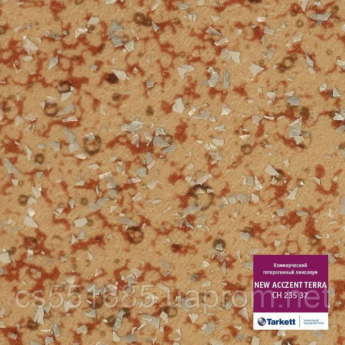 СН 235 37 - линолеум коммерческий гетерогенный 34 кл, коллекция New Acczent Terra  (Нью Акцент Терра) Tarkett