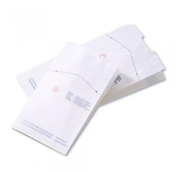 Пакеты для стерилизации Steriking бумажные со складкой 110x30x190 мм